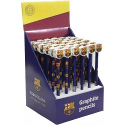 FC Barcelona grafitceruza forma radírral, 1db