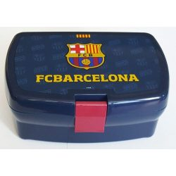 FC Barcelona uzsonnás doboz, kék