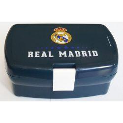 Real Madrid uzsonnás doboz, kék