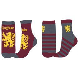 Harry Potter Griffendél zokni, 2 pár