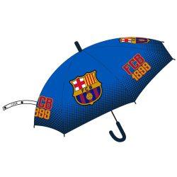FC Barcelona félautomata esernyő 77 cm, világoskék