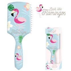 Flamingó hajkefe