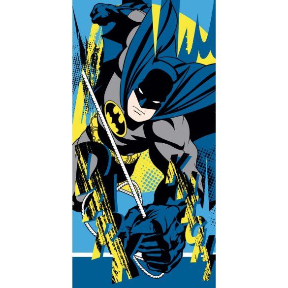 Batman fürdőlepedő, törölköző 70*140 cm, kék