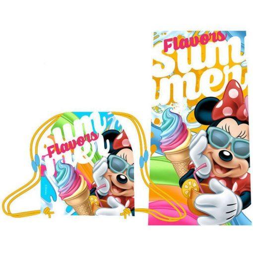 Minnie törölköző és tornazsák szett