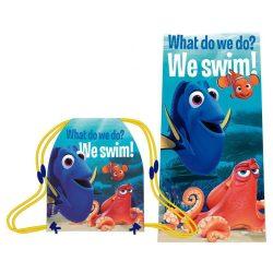 Nemo törölköző és tornazsák szett