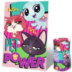 Littlest Pet Shop polár takaró 100*150 cm