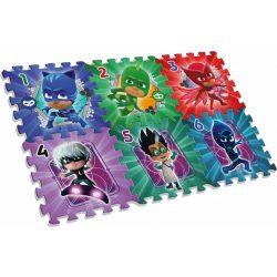 Pizsihősök szivacs puzzle szőnyeg, 6db-os