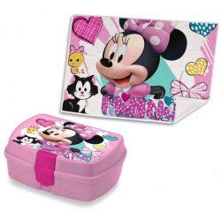 Minnie uzsonnás doboz kéztörlővel