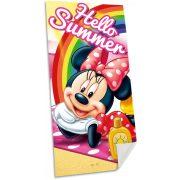 Minnie fürdőlepedő, törölköző 70*140 cm, Hello Summer