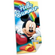 Mickey fürdőlepedő, törölköző 70*140 cm, Hello Summer