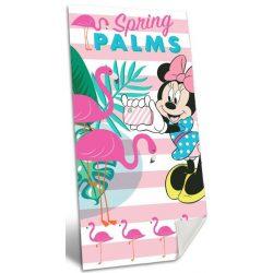Minnie fürdőlepedő, törölköző 70*140 cm, flamingó, Spring Palms