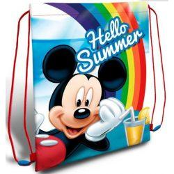 Mickey tornazsák 40 cm, Hello summer
