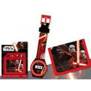 Star Wars digitális karóra és pénztárca