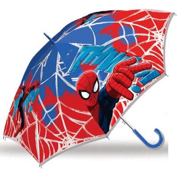 Pókember félautomata esernyő 84 cm