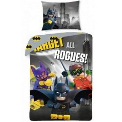 Lego Batman ágyneműhuzat szett 140*200 cm, 70*90 cm