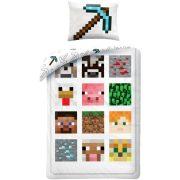Minecraft ágyneműhuzat szett 140*200 cm, 70*90 cm, sok karakter