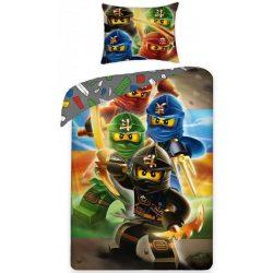 Lego Ninjago ágyneműhuzat szett 140*200 cm, 70*90 cm