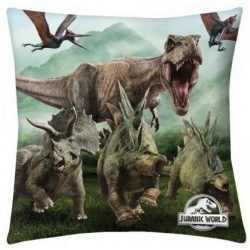 Jurassic World párna 40*40 cm, T-Rex
