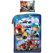 Lego City ágyneműhuzat szett 140*200 cm, 70*90 cm, Tűzoltó