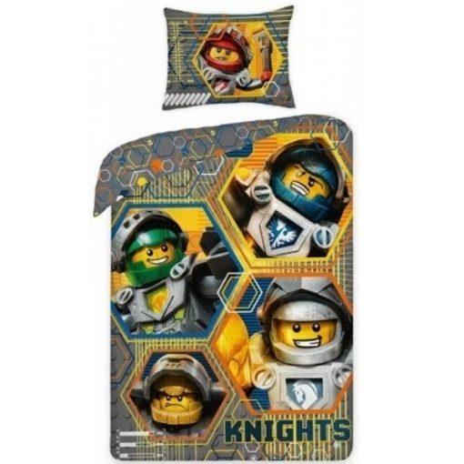 Lego Knights ágyneműhuzat szett 140*200 cm, 70*90 cm