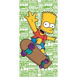A Simpson család fürdőlepedő, törölköző 70*140 cm, Skate