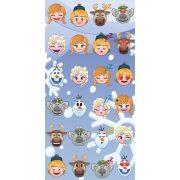 Emoji Jégvarázs fürdőlepedő, törölköző 70*140 cm, Frozen