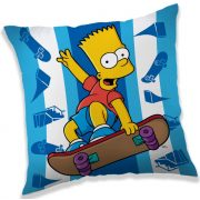 A Simpson család párna 40*40 cm, Skate