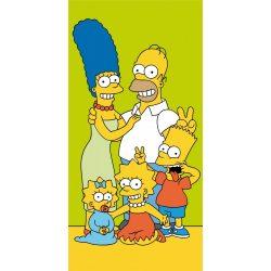 A Simpson család fürdőlepedő, törölköző 70*140 cm, Family