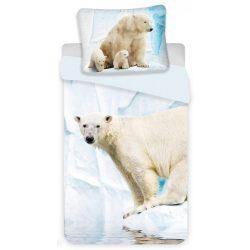 Jegesmedvés ágyneműhuzat szett 140*200 cm, 70*90 cm