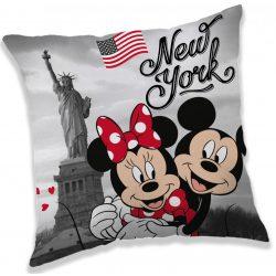 Minnie és Mickey párna 40*40 cm, New York