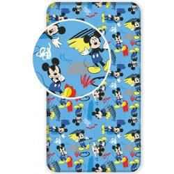 Mickey egér gumis lepedő 90*200 cm