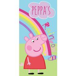 Peppa malac fürdőlepedő, törölköző 70*140 cm, Rainbow