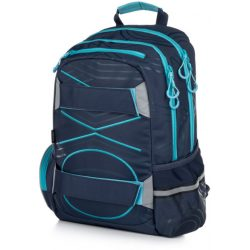 Oxybag, Oxy Sport hátizsák 45 cm, 23l, Pastel Line kék-pasztel kék