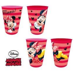 Minnie 4 db-os műanyag pohár szett