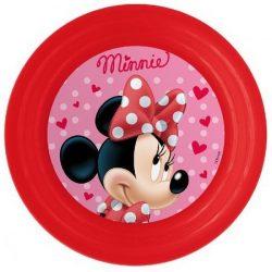 Minnie műanyag tányér 3D