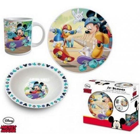Mickey porcelán étkészlet