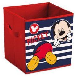 Mickey egér játéktároló doboz