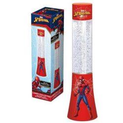 Pókember csillámos lámpa, 33 cm