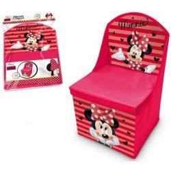 Minnie játéktároló szék 30*30*50 cm