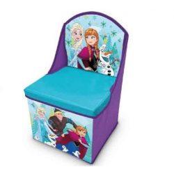 Jégvarázs játéktároló szék 30*30*50 cm