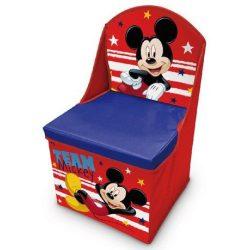 Mickey játéktároló szék 30*30*50 cm
