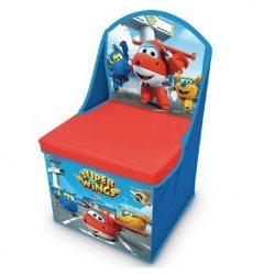 Super Wings játéktároló szék 30*30*50 cm