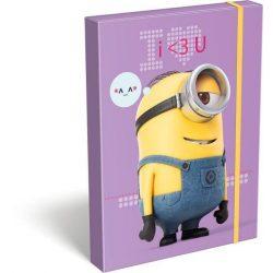 Minions füzetbox A/4 I Love U