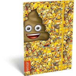 Emoji gumis mappa A/4 Poop