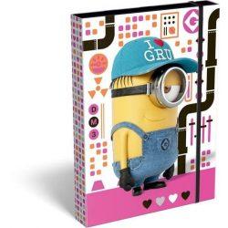 Minions füzetbox A/4 Pink