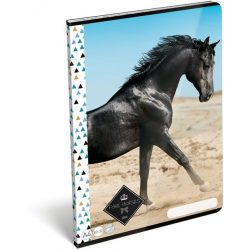 Lovas füzet A/4, 32 lap sima Geo Horse Sand