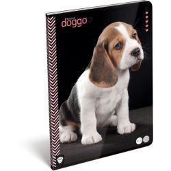 Kutyás füzet A/4, 32 lap vonalas Dog Good