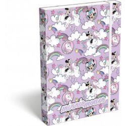 Minnie füzetbox A/4 Minnie Mouse Unicorn