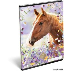 Lovas füzet A/4, 32 lap sima Wild Beauty Brown