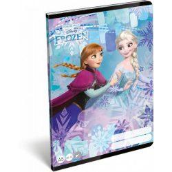 Jégvarázs füzet A/5, 32 lap sima Frozen Magic